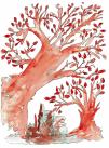 Red tree chakra